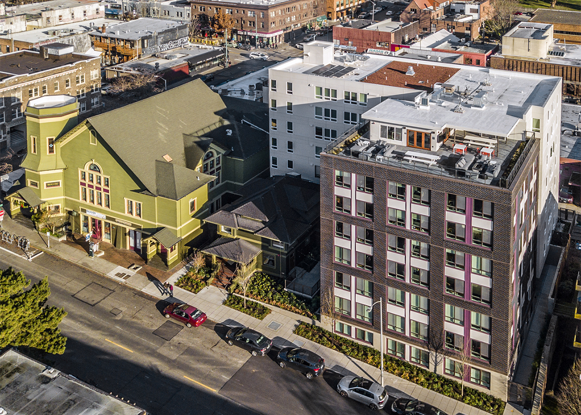 Built Green Hammer Awards 2018—Multifamily Builder, 51–150 Units—Exxel Pacific
