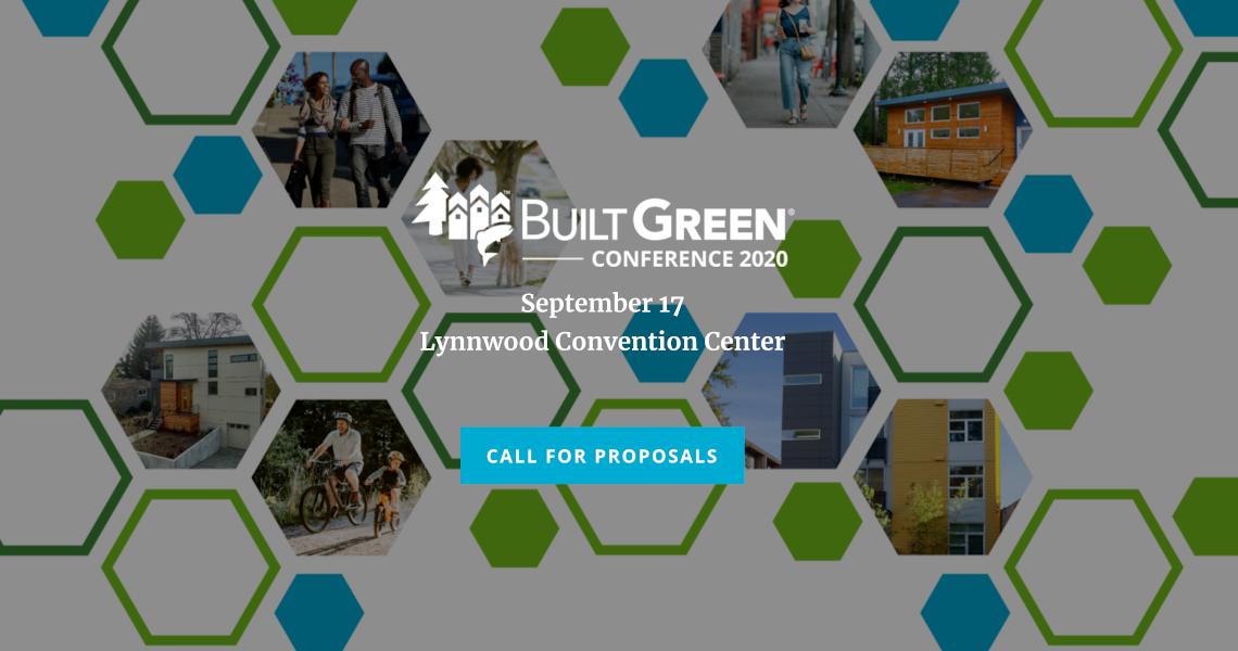 Built Green Call for Proposals