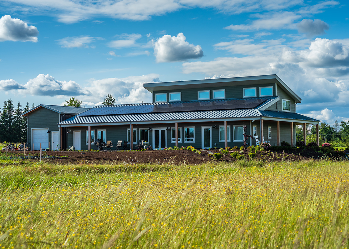 Built Green Hammer Awards, Project of the Year—Trax Farmhouse