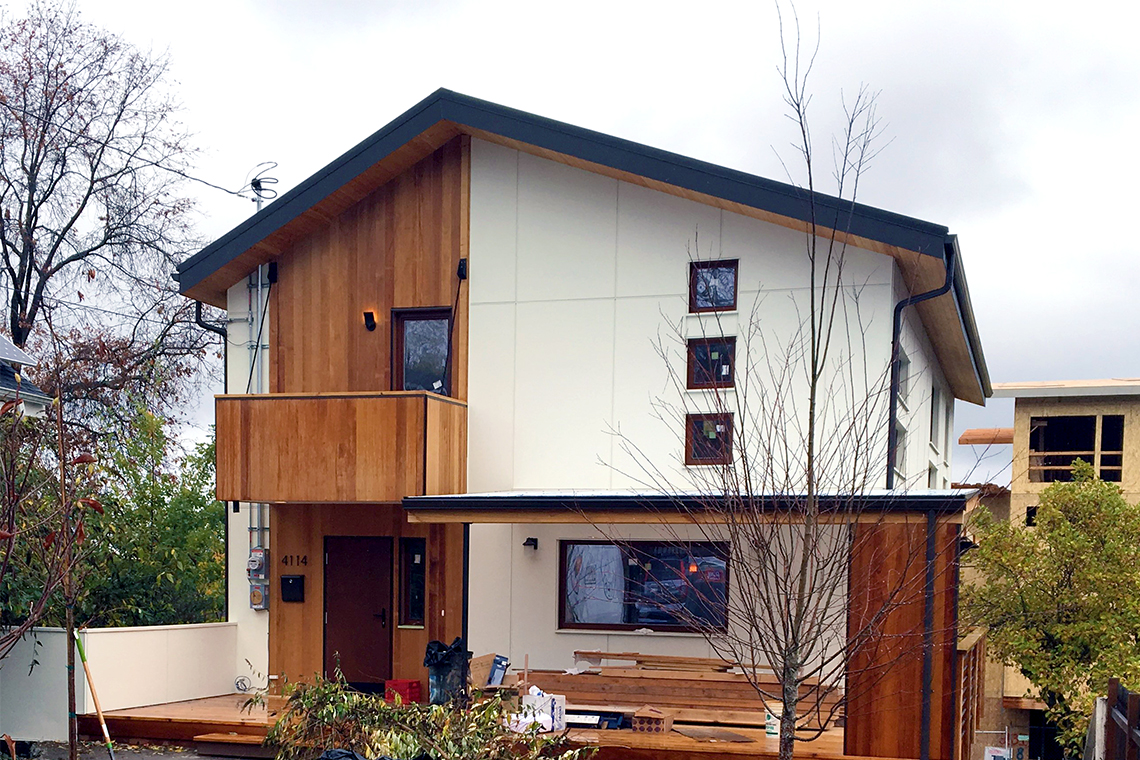 TC Legend West Seattle Built Green Emerald Star home exterior
