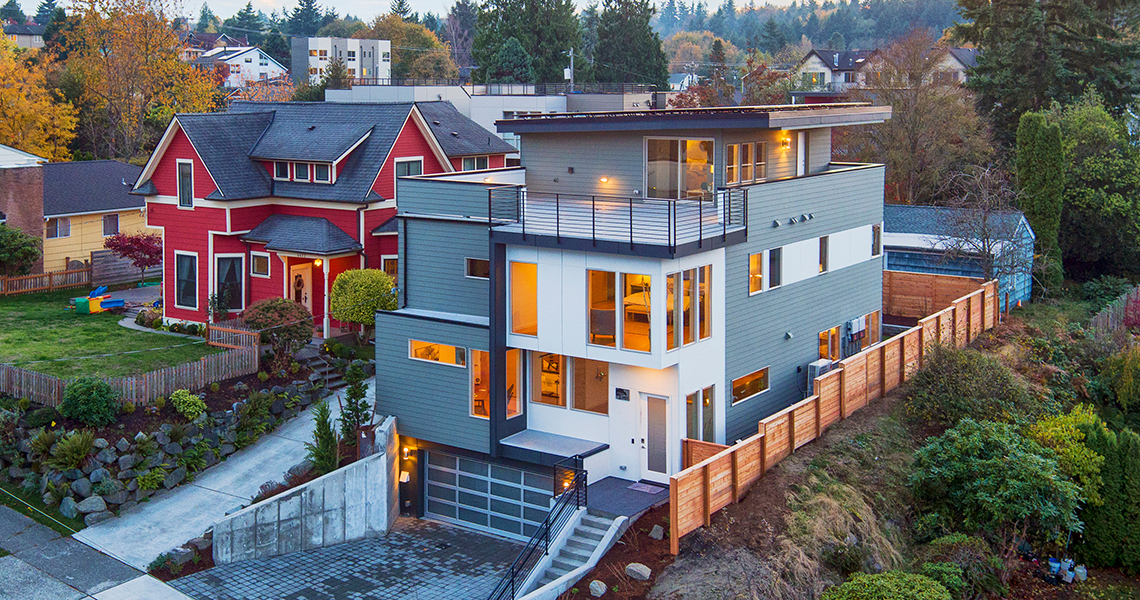 HyBrid Architecture 4-Star Rowhouses