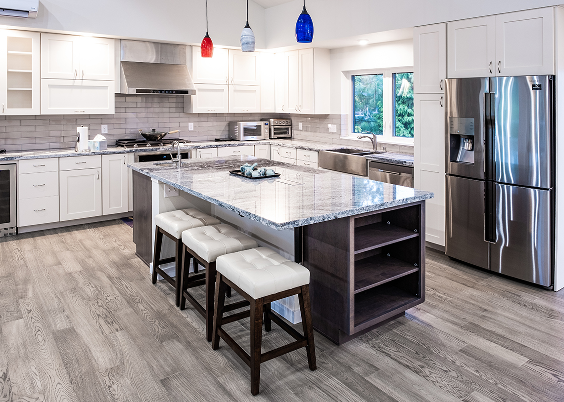 TC Legend Homes Built Green 5-Star Semiahmoo home kitchen